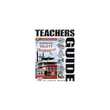 Gallopade International The Mystery On the Mighty Mississippi Teacher's Guide Workbook, Grade 4 - Grade 6 [eBook]