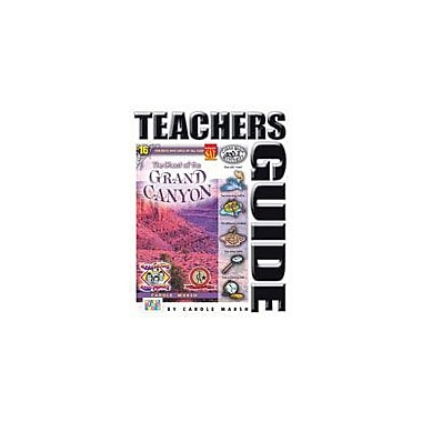 Gallopade International The Ghost of the Grand Canyon Teacher's Guide Reading & Writing Workbook, Grade 4 - Grade 6 [eBook]