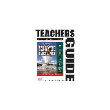 Gallopade International The Mystery At Yellowstone National Park Teacher's Guide Workbook, Grade 4 - Grade 6 [eBook]