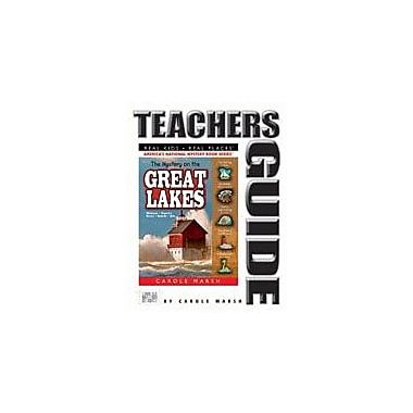 Gallopade International The Mystery On the Great Lakes Teacher's Guide Reading & Writing Workbook, Grade 4 - Grade 6 [eBook]