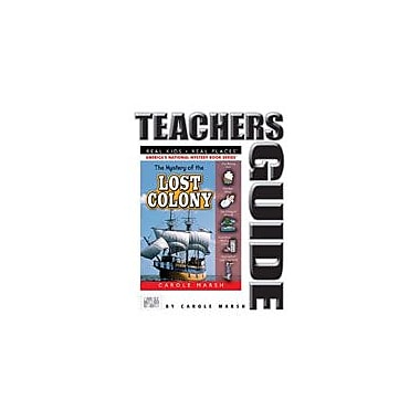 Gallopade International The Mystery of the Lost Colony Teacher's Guide Reading & Writing Workbook, Grade 4 - Grade 6 [eBook]