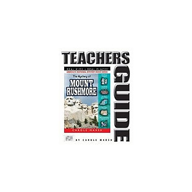 Gallopade International The Mystery At Mount Rushmore Teacher's Guide Reading & Writing Workbook, Grade 4 - Grade 6 [eBook]