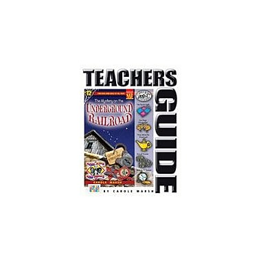 Gallopade International The Mystery On the Underground Railroad Teacher's Guide Workbook, Grade 4 - Grade 6 [eBook]