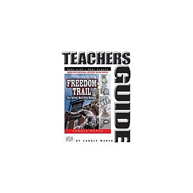 Gallopade International The Mystery On the Freedom Trail Teacher's Guide Reading & Writing Workbook, Grade 4 - Grade 6 [eBook]