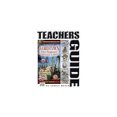 Gallopade International The Mystery At Jamestown Teacher's Guide Reading & Writing Workbook, Grade 4 - Grade 6 [eBook]