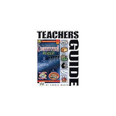 Gallopade International The Counterfeit Constitution Mystery Teacher's Guide Workbook, Grade 4 - Grade 6 [eBook]