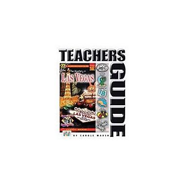 Gallopade International The Mystery In Las Vegas Teacher's Guide Reading & Writing Workbook, Grade 4 - Grade 6 [eBook]