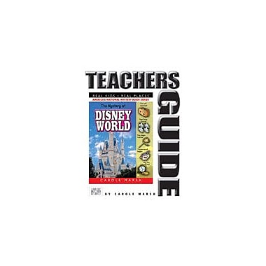 Gallopade International The Mystery At Disney World Teacher's Guide Reading & Writing Workbook, Grade 4 - Grade 6 [eBook]