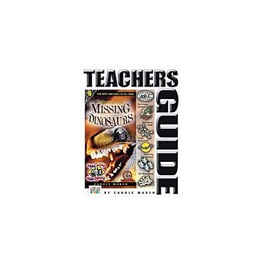 Gallopade International The Mystery of the Missing Dinosaurs Teacher's Guide Workbook, Grade 4 - Grade 6 [eBook]