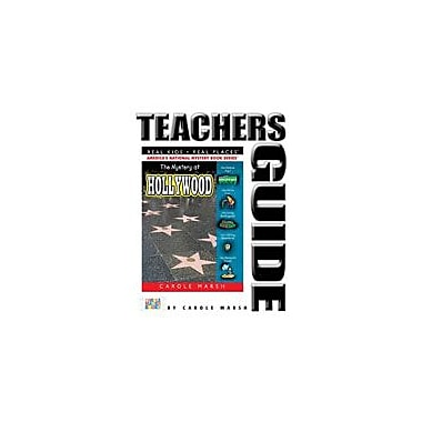 Gallopade International The Mystery At Hollywood Teacher's Guide Reading & Writing Workbook, Grade 4 - Grade 6 [eBook]