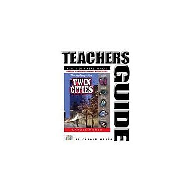 Gallopade International The Mystery In the Twin Cities Teacher's Guide Reading & Writing Workbook, Grade 4 - Grade 6 [eBook]