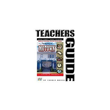Gallopade International The Mystery At Motown Teacher's Guide Reading & Writing Workbook, Grade 4 - Grade 6 [eBook]