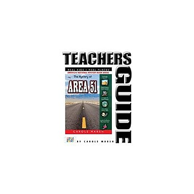 Gallopade International The Mystery At Area 51 Teacher's Guide Reading & Writing Workbook, Grade 4 - Grade 6 [eBook]