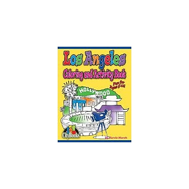 Gallopade International Los Angeles Coloring & Activity Book Geography Workbook, Kindergarten - Grade 5 [eBook]