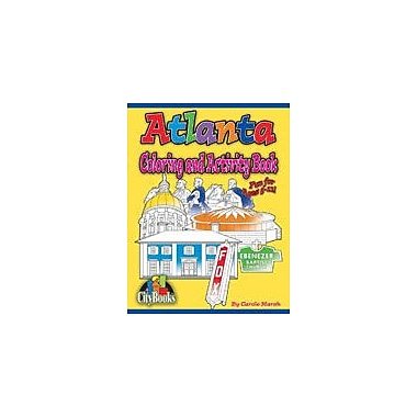 Gallopade International Atlanta Coloring and Activity Book Geography Workbook, Kindergarten - Grade 5 [eBook]