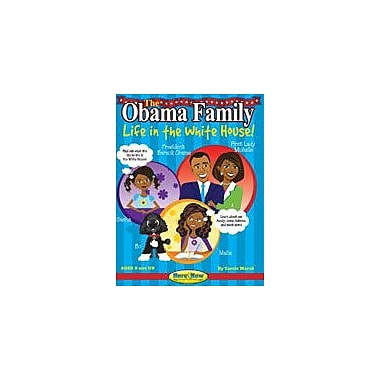 Gallopade International The Obama Family: Life In the White House Reading & Writing Workbook, Grade 3 - Grade 8 [eBook]