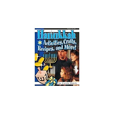 Gallopade International Hanukkah Activities, Crafts, Recipes, and More! Social Studies Workbook, Grade 1 - Grade 6 [eBook]