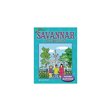 Gallopade International That's Soooo Savannah Coloring Book Geography Workbook, Kindergarten - Grade 2 [eBook]