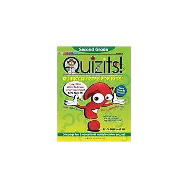 Gallopade International Second Grade Quizits!: Quirky Quizzes For Kids! Test Prep Workbook, Grade 2 [eBook]