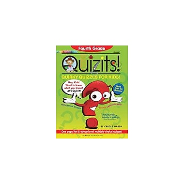 Gallopade International Fourth Grade Quizits!: Quirky Quizzes For Kids! Test Prep Workbook, Grade 4 [eBook]