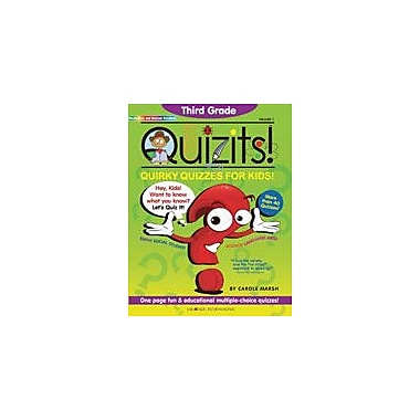 Gallopade International Third Grade Quizits!: Quirky Quizzes for Kids! Test Prep Workbook, Grade 3 [eBook]