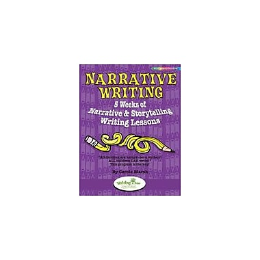 Gallopade International Narrative Writing: 5 Weeks of Narrative & Storytelling Writing Lessons Workbook [eBook]
