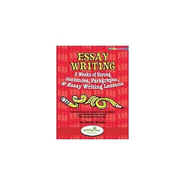 Gallopade International Essay Writing: 5 Weeks of Strong Sentences, Paragraphs, & Essay Writing Lessons Workbook [eBook]