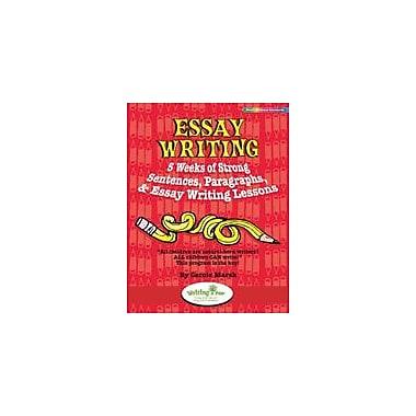 Gallopade International Essay Writing: 5 Weeks of Strong Sentences, Paragraphs, & Essay Writing Lessons Workbook [eBook]