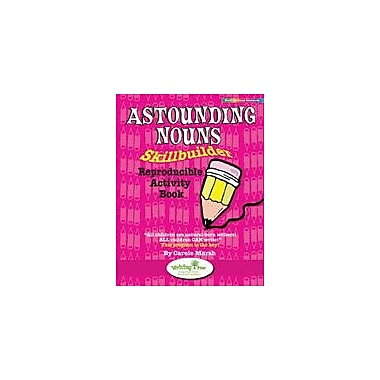 Gallopade International Astounding Nouns Skillbuilder Reproducible Activity Book Workbook, Grade 3 - Grade 7 [eBook]