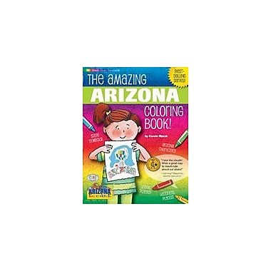 Gallopade International The Awesome Arizona Coloring Book! Social Studies Workbook, Kindergarten - Grade 2 [eBook]