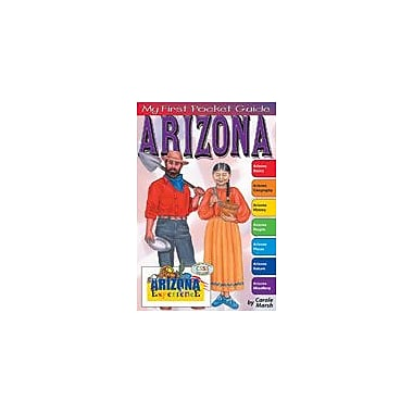 Gallopade International My First Pocket Guide About Arizona Social Studies Workbook, Grade 3 - Grade 8 [eBook]