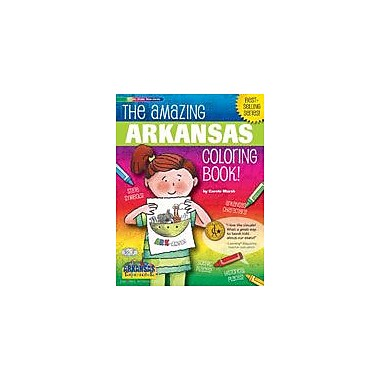 Gallopade International The Awesome Arkansas Coloring Book Social Studies Workbook, Kindergarten - Grade 2 [eBook]
