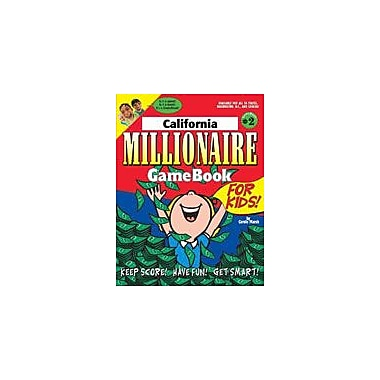 Gallopade International California Millionaire Geography Workbook, Grade 3 - Grade 8 [eBook]