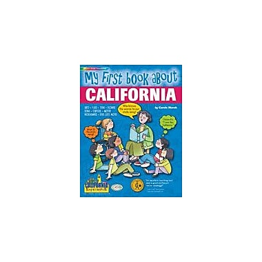 Gallopade International My First Book About California! Social Studies Workbook, Kindergarten - Grade 4 [eBook]