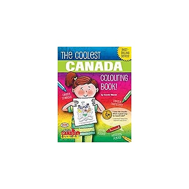Gallopade International The Coolest Canada Colouring Book Geography Workbook, Grade 3 - Grade 8 [eBook]
