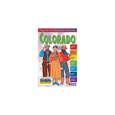 Gallopade International My First Pocket Guide About Colorado Social Studies Workbook, Grade 3 - Grade 8 [eBook]