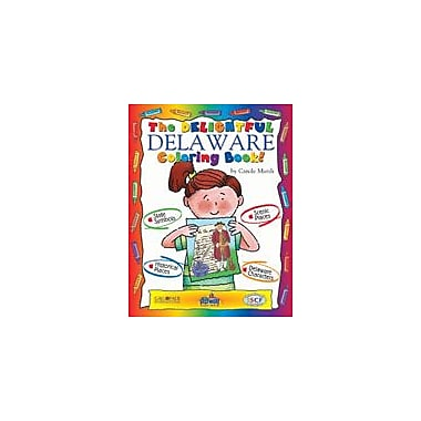 Gallopade International The Dynamite Delaware Coloring Book! Social Studies Workbook, Kindergarten - Grade 2 [eBook]