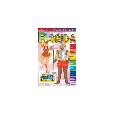Gallopade International My First Pocket Guide About Florida Social Studies Workbook, Grade 3 - Grade 8 [eBook]