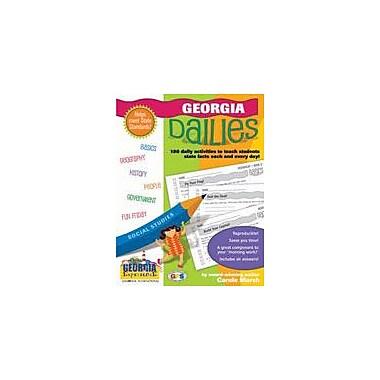 Gallopade International Georgia Dailies: 180 Daily Activities For Kids Social Studies Workbook, Grade 1 - Grade 8 [eBook]