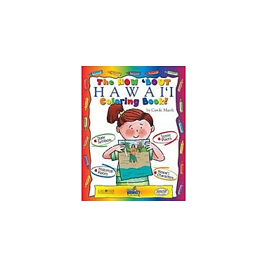 Gallopade International The How 'Bout Hawaii Coloring Book! Social Studies Workbook, Kindergarten - Grade 2 [eBook]