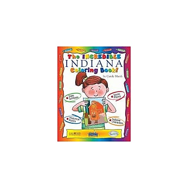 Gallopade International The Incredible Indiana Coloring Book Social Studies Workbook, Kindergarten - Grade 2 [eBook]