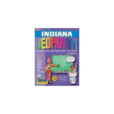 Gallopade International Indiana Jeopardy! Social Studies Workbook, Grade 3 - Grade 8 [eBook]