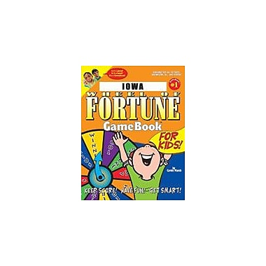 Gallopade International Iowa Wheel of Fortune! Geography Workbook, Grade 3 - Grade 8 [eBook]