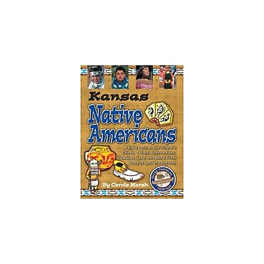 Gallopade International Kansas Native Americans Social Studies Workbook, Grade 3 - Grade 8 [eBook]