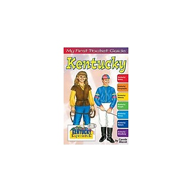 Gallopade International My First Pocket Guide About Kentucky Social Studies Workbook, Grade 3 - Grade 8 [eBook]