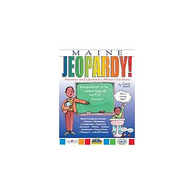 Gallopade International Maine Jeopardy!: Answers & Questions About Our State! Social Studies Workbook, Grade 3 - Grade 8 [eBook]