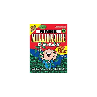 Gallopade International Maine Millionaire Geography Workbook, Grade 3 - Grade 8 [eBook]