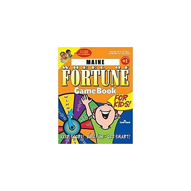 Gallopade International Maine Wheel of Fortune! Geography Workbook, Grade 3 - Grade 8 [eBook]