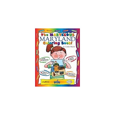 Gallopade International The Marvelous Maryland Coloring Book! Social Studies Workbook, Kindergarten - Grade 2 [eBook]