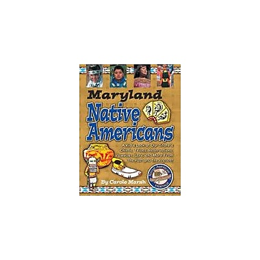 Gallopade International Maryland Native Americans Social Studies Workbook, Grade 3 - Grade 8 [eBook]